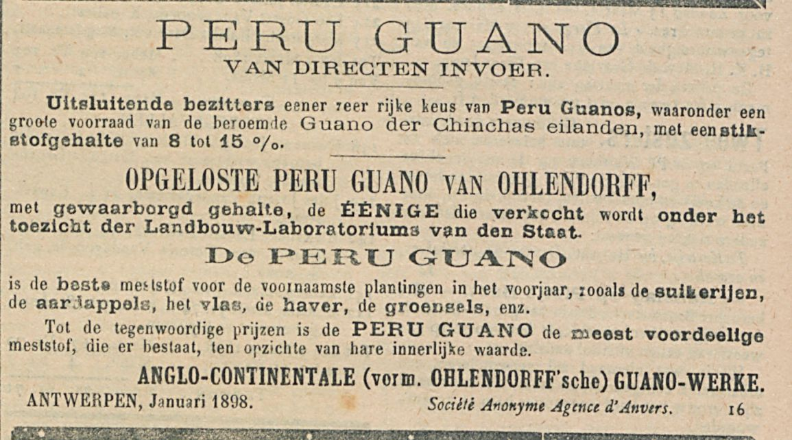 PERU GUANO