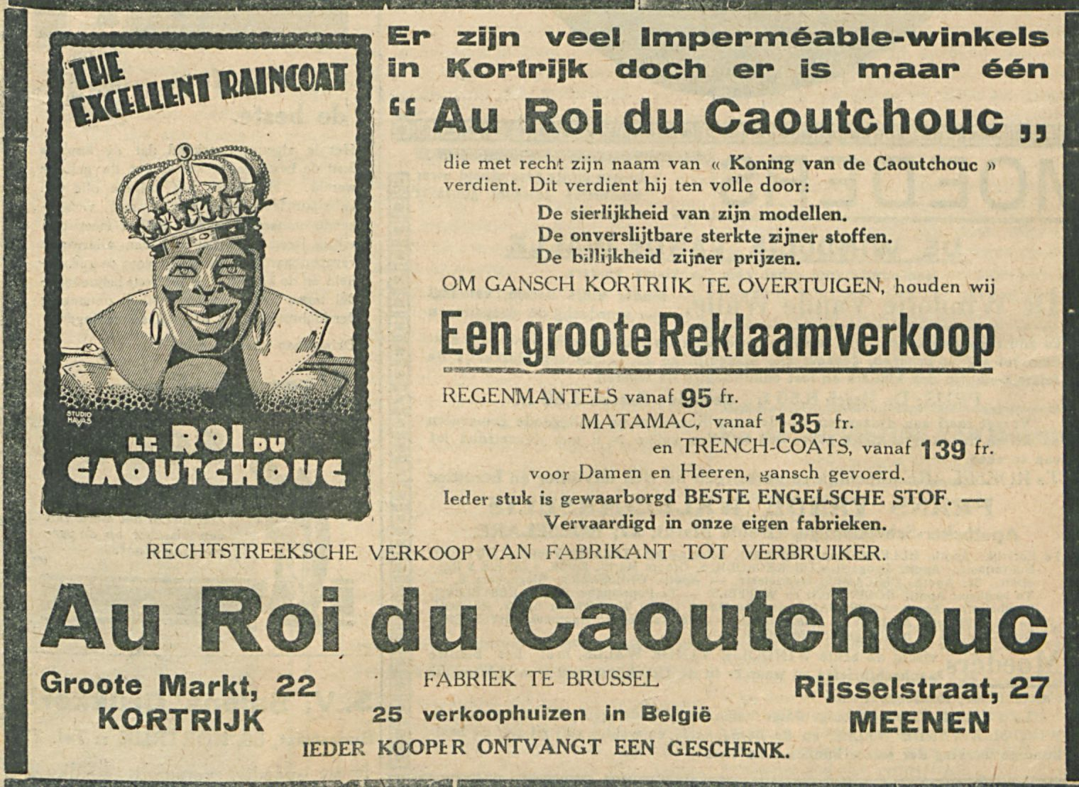 Au Roi du Caoutchouc