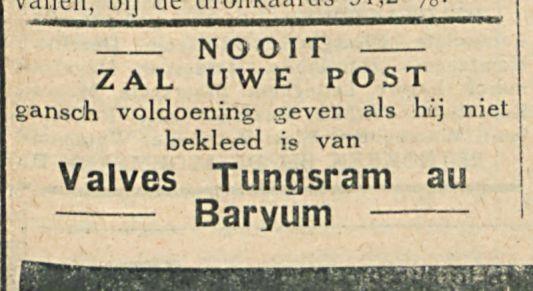 Valves Tungsram