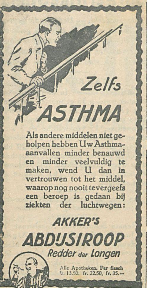 ZELFS ASTHMA