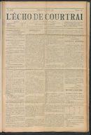 L'echo De Courtrai 1911-10-22