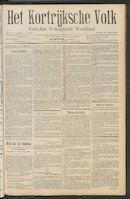 Het Kortrijksche Volk 1911-04-16