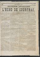 L'echo De Courtrai 1875-07-29
