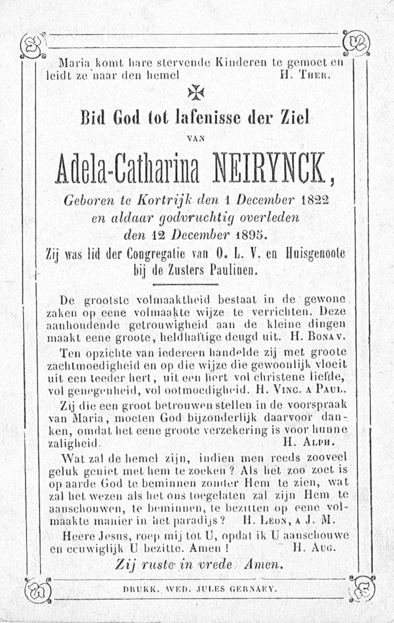 Adela-Catharina Neirynck