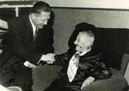 Huldiging 101-jarige Elisa Gaeremynck