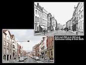 Rijselsestraat ca 1900 en  2013