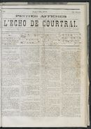 L'echo De Courtrai 1873-05-08 p1