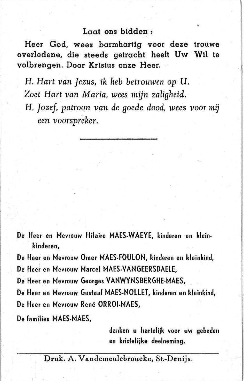 Benedictus-Wilhelmus Maes