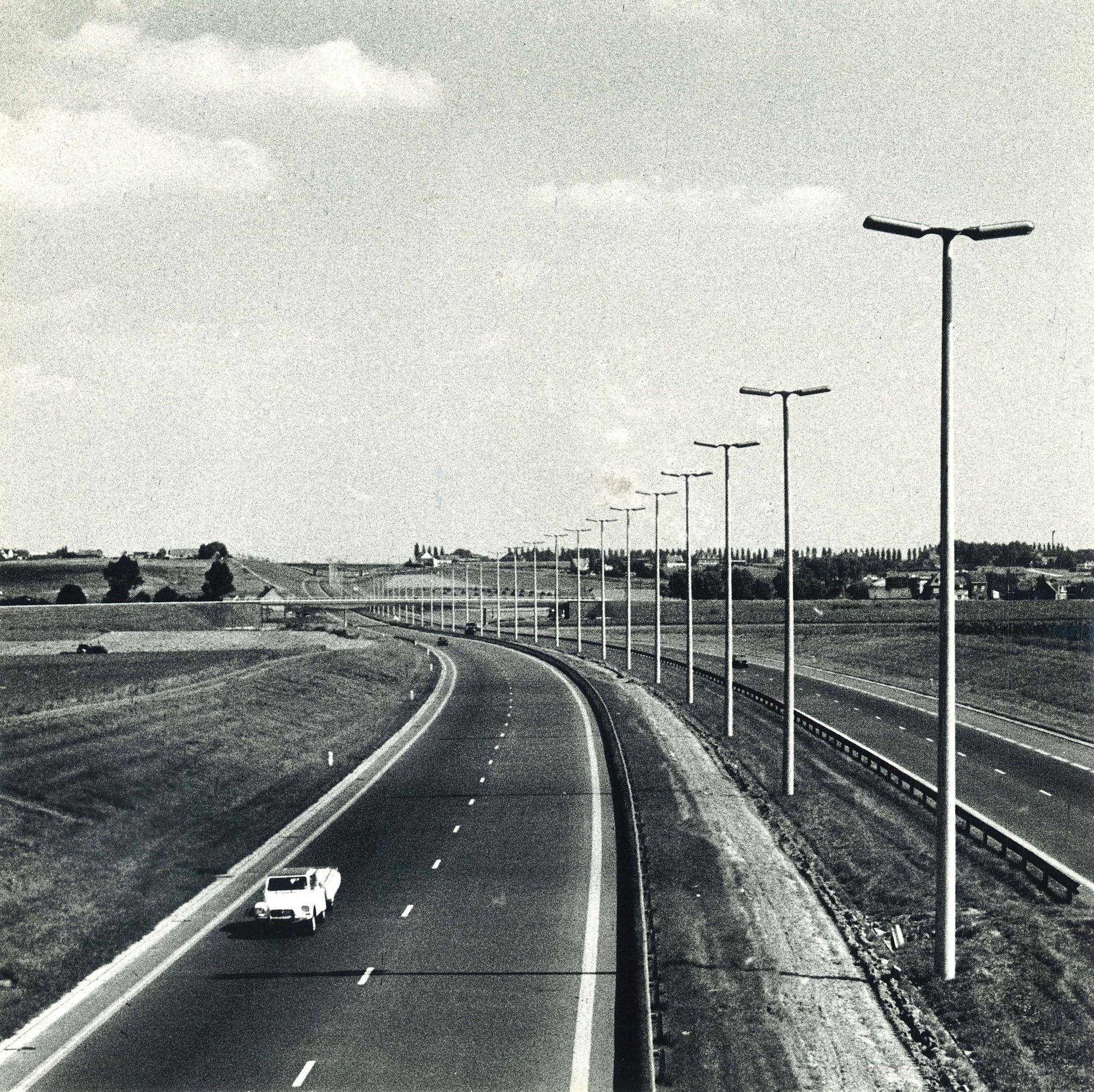 Autosnelweg E17 (E3) 1972