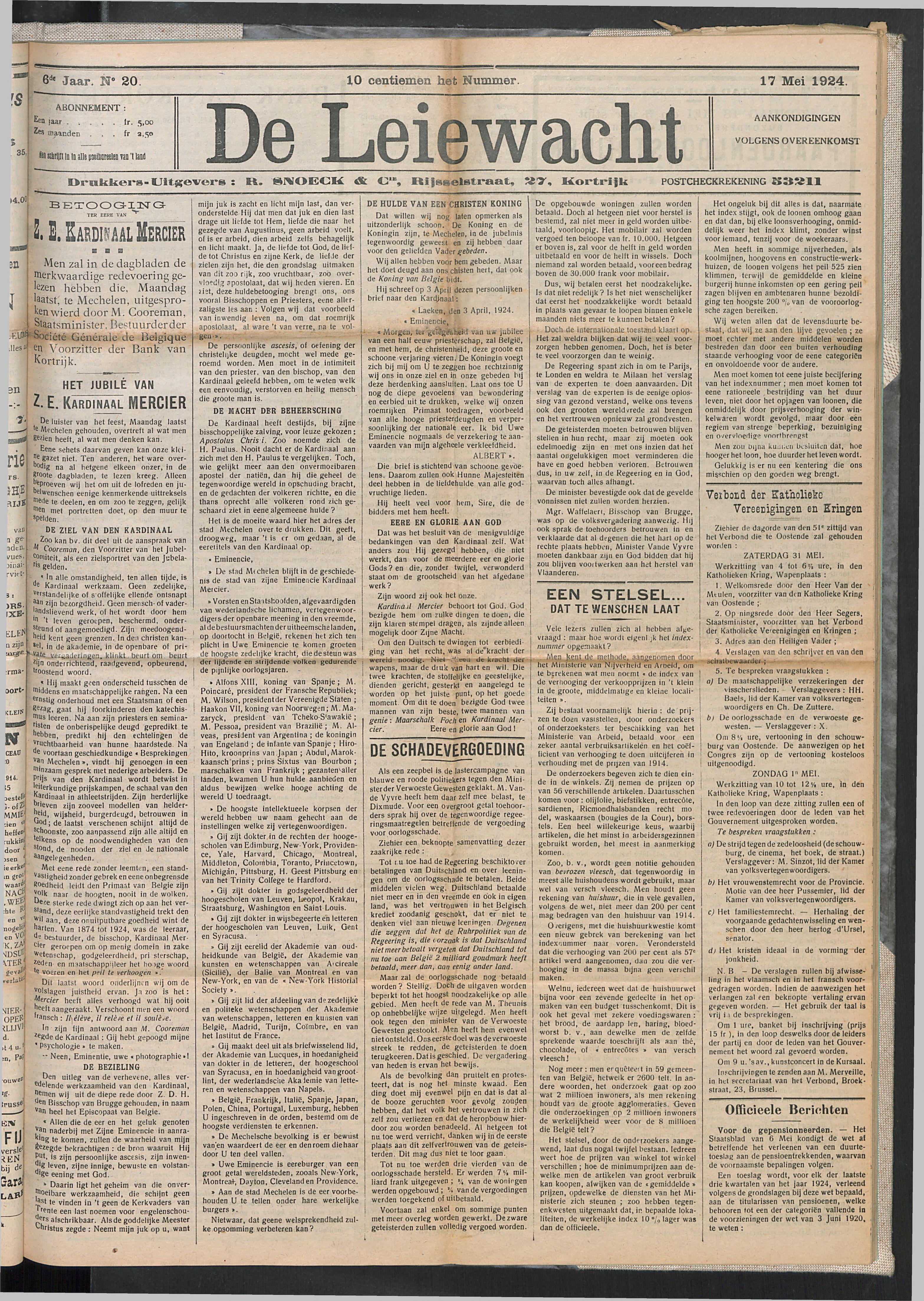 De Leiewacht 1924-05-17 p1