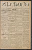 Het Kortrijksche Volk 1910-03-20 p1