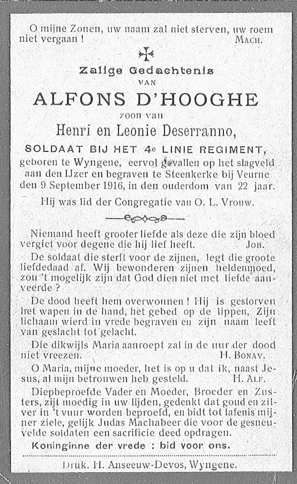 Alfons D'Hooghe