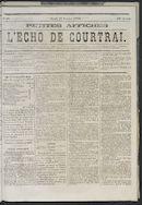 L'echo De Courtrai 1873-02-27 p1