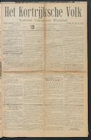 Het Kortrijksche Volk 1914-01-18 p1