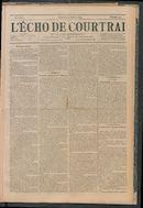 L'echo De Courtrai 1892-10-09 p1