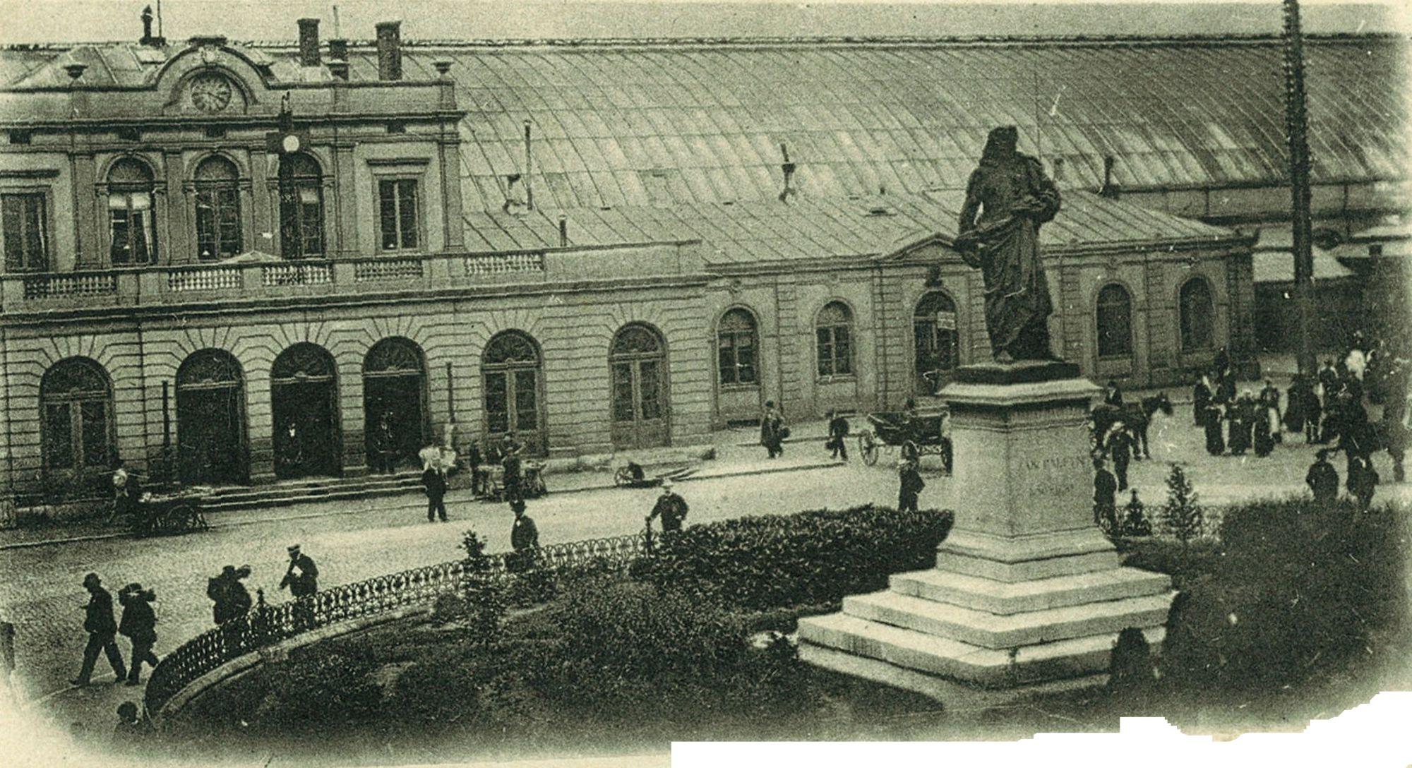 Station en monument Jan Palfyn 1899