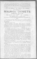 Maurice Demets