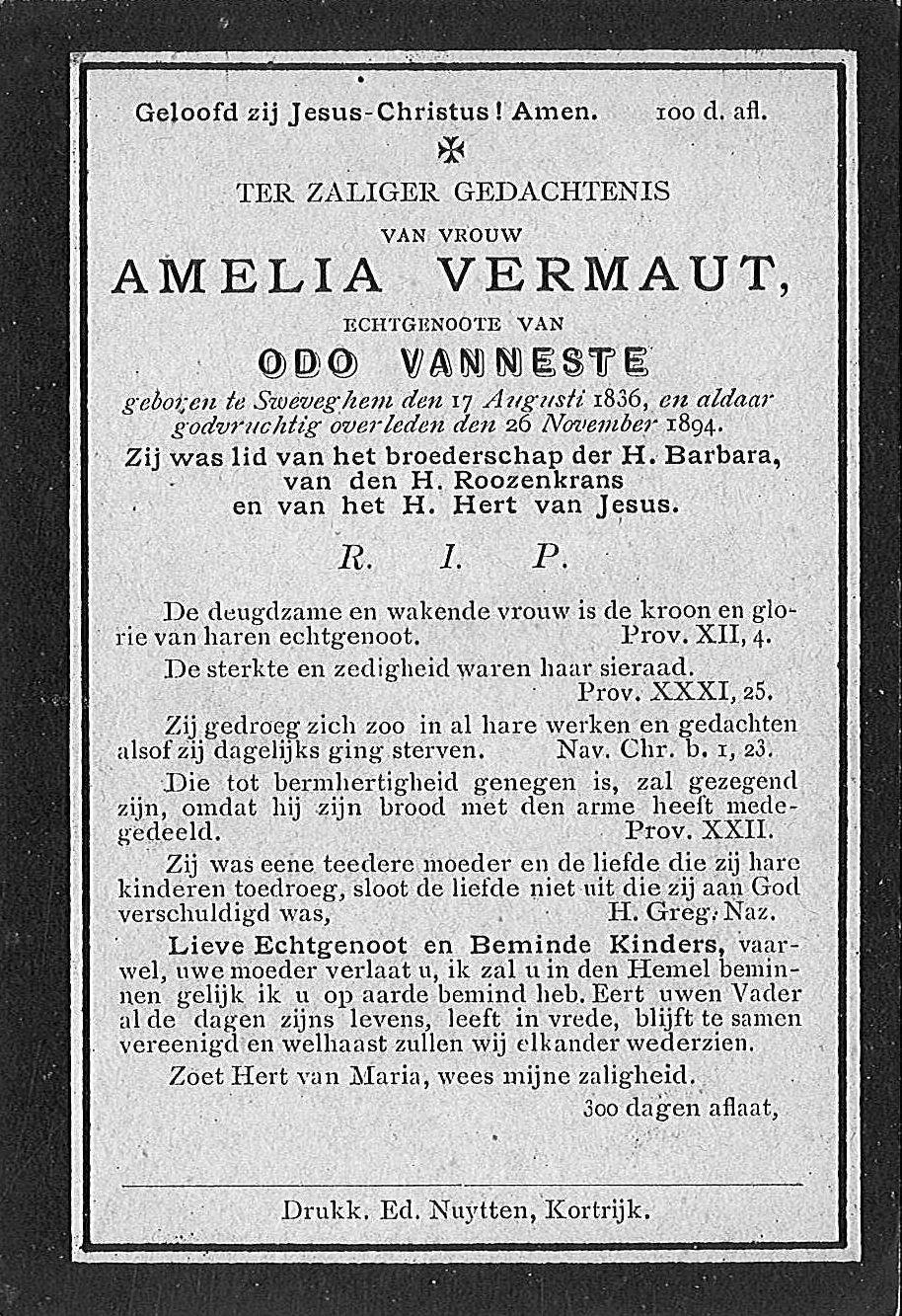 Amelia Vermaut