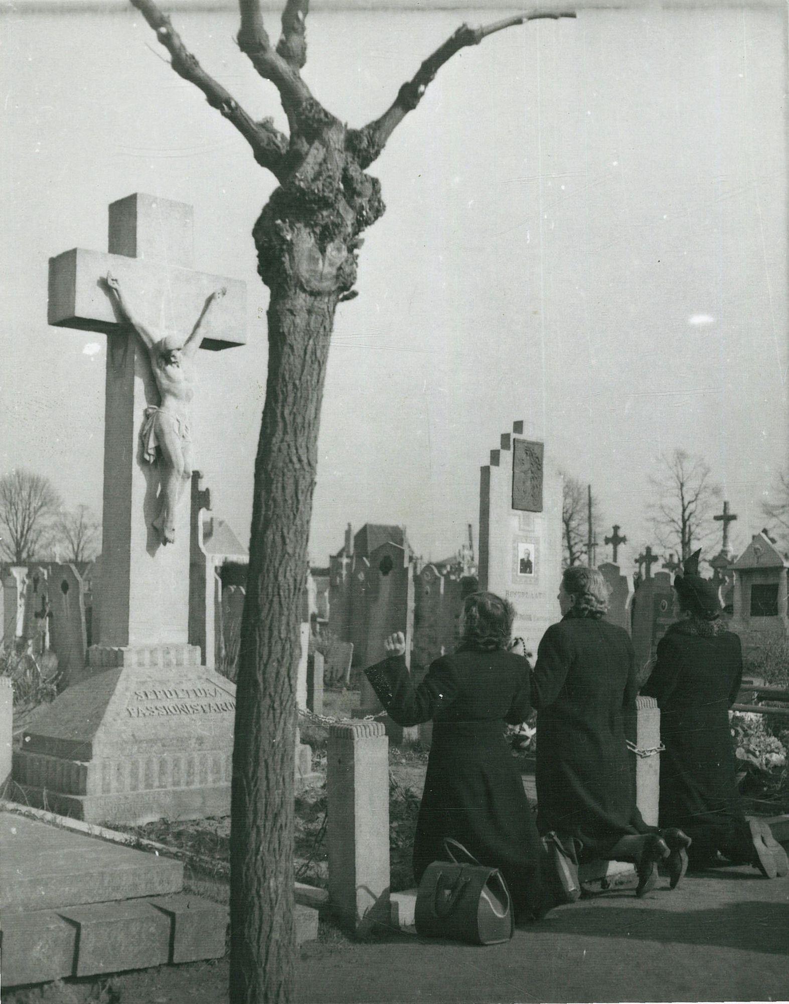 Het graf van broeder Isidoor