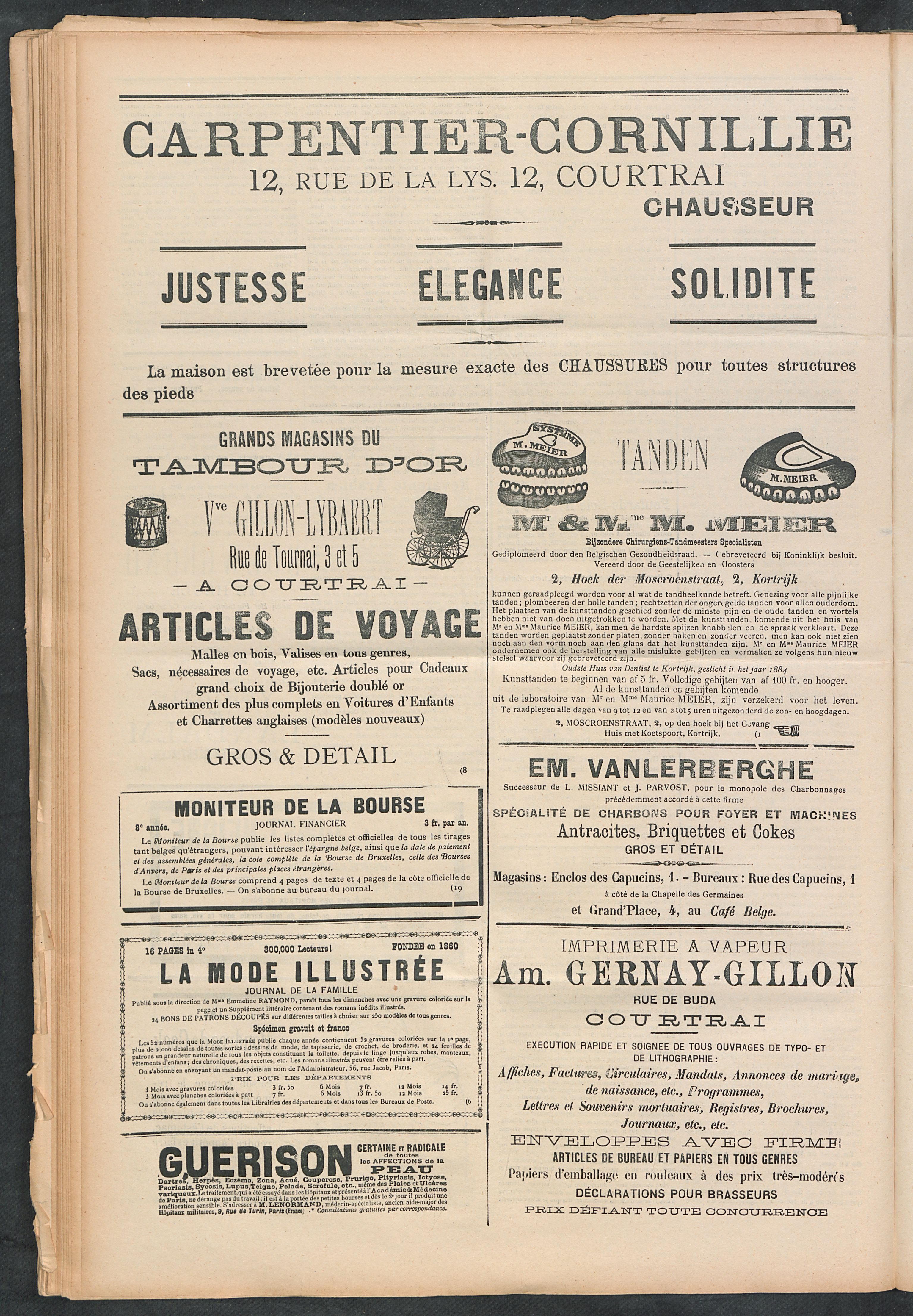 L'echo De Courtrai 1899-09-10 p4
