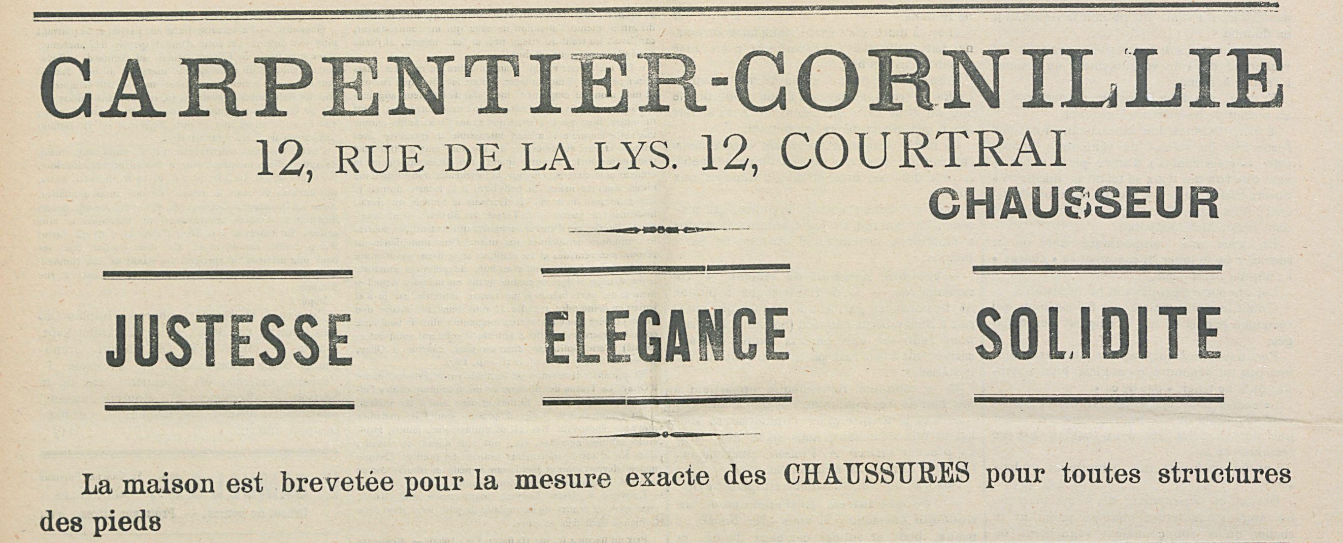 CARPENTIER-CORNILLIE