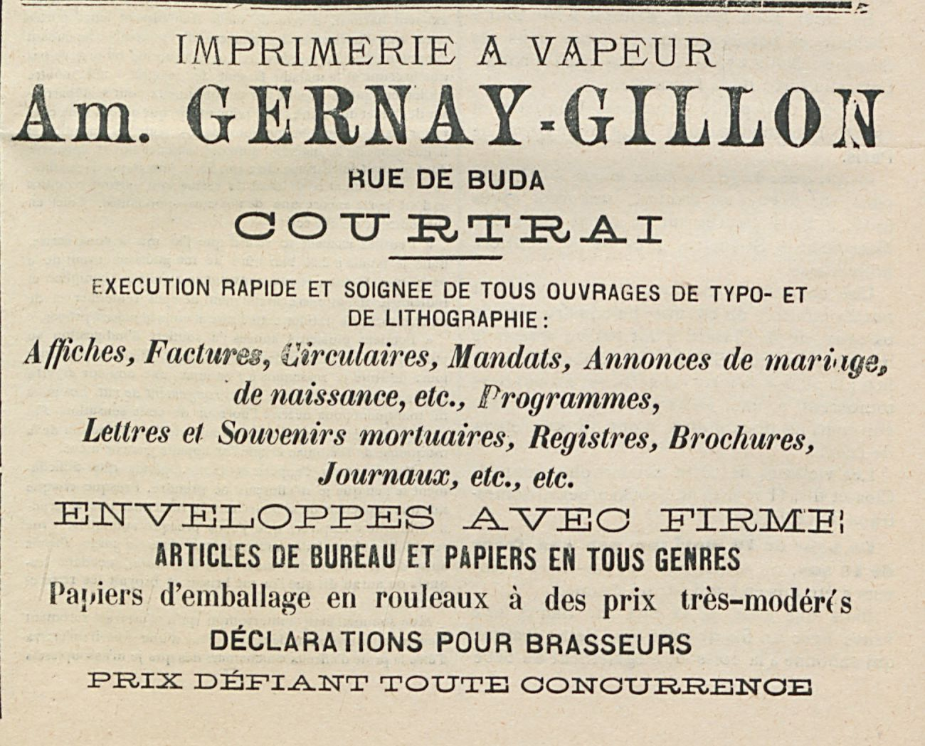 Am. GERNAY-GILLON