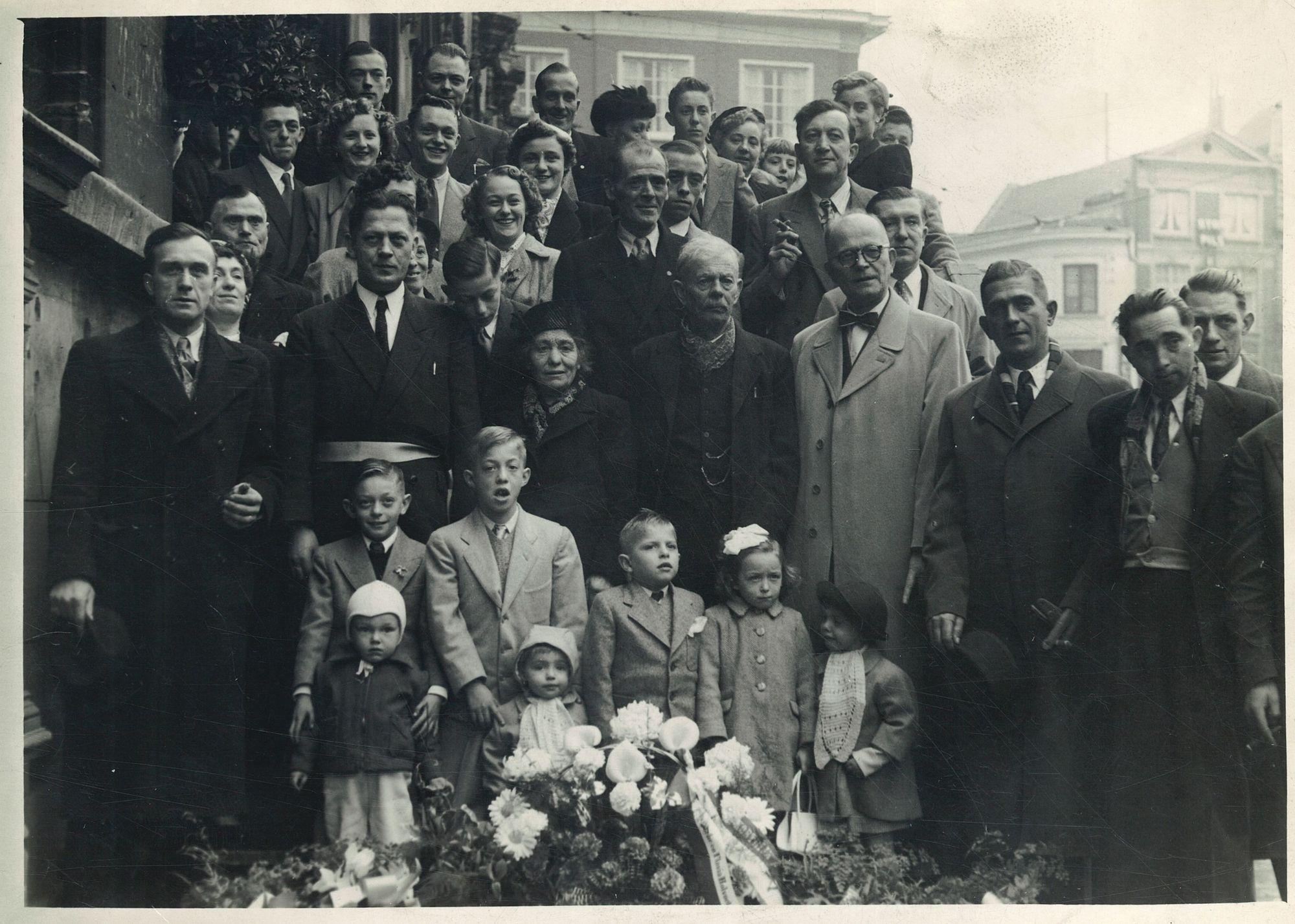 Gouden bruiloft Van Hessche-Holvoet