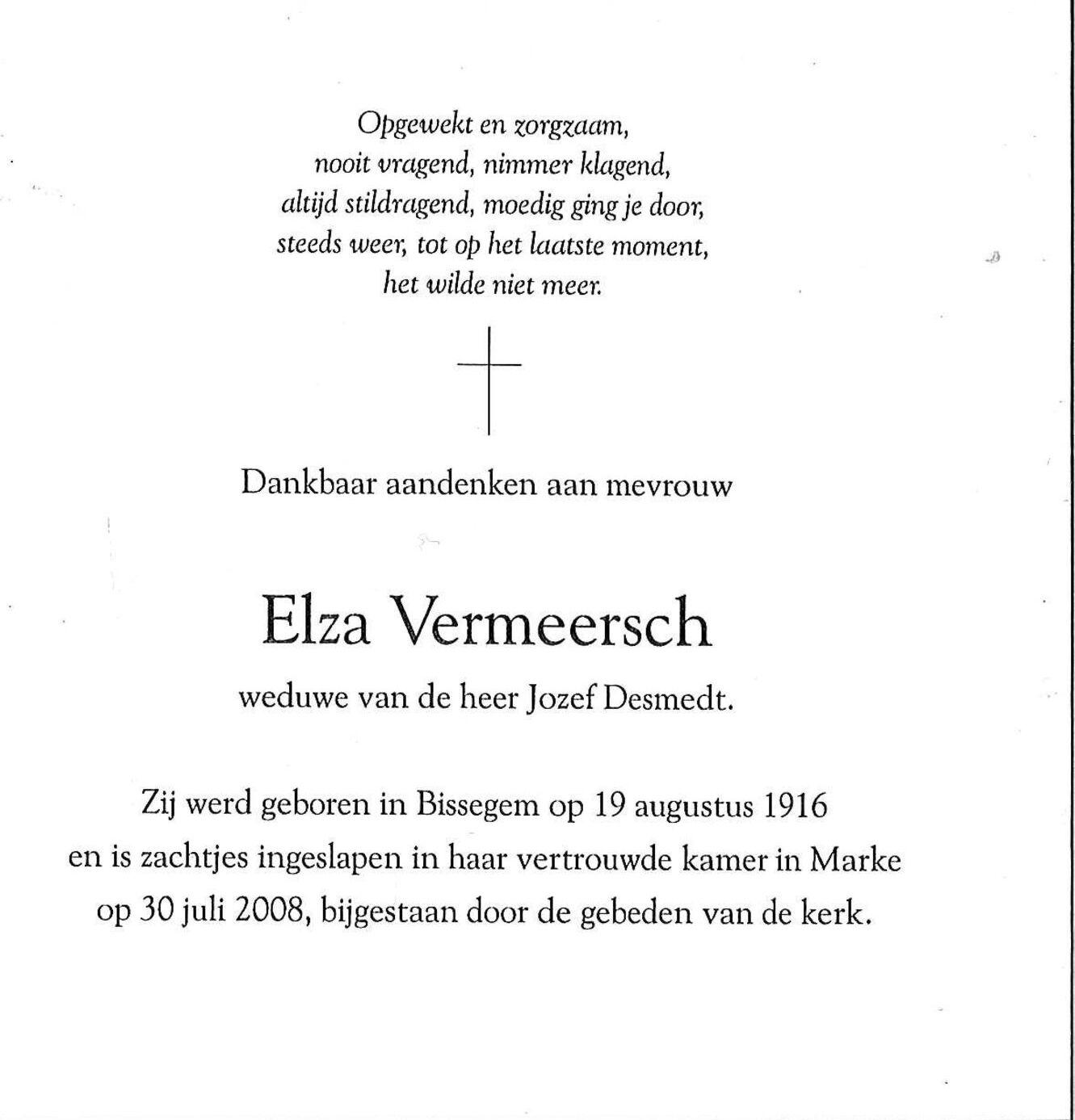Elza Vermeersch
