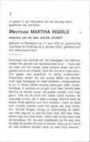 Martha Rigole