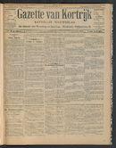 Gazette Van Kortrijk 1911-01-26