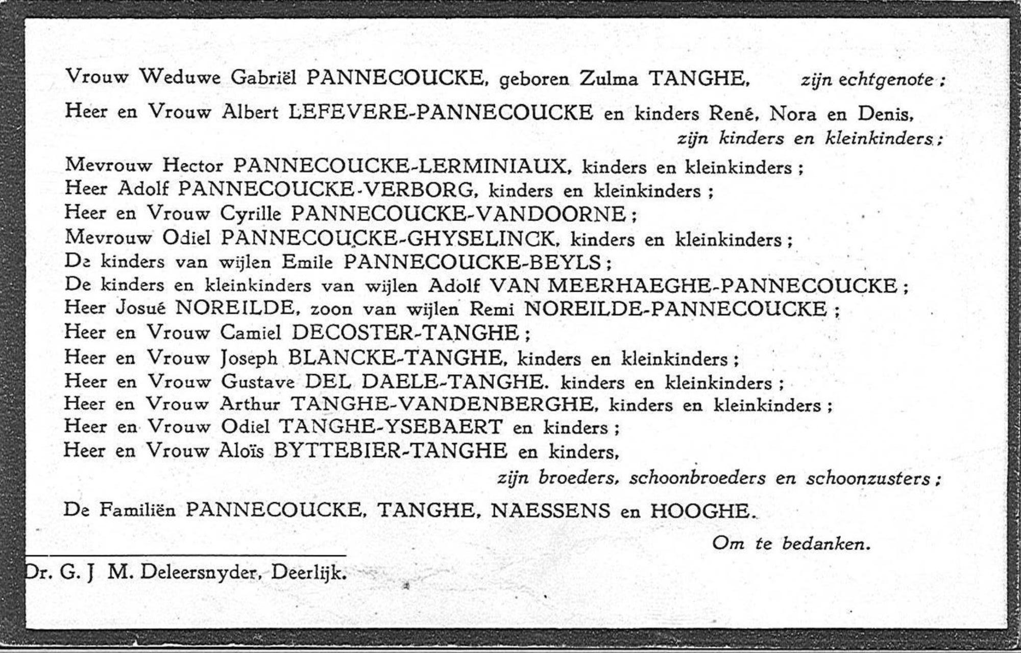 Gabriel Pannecoucke