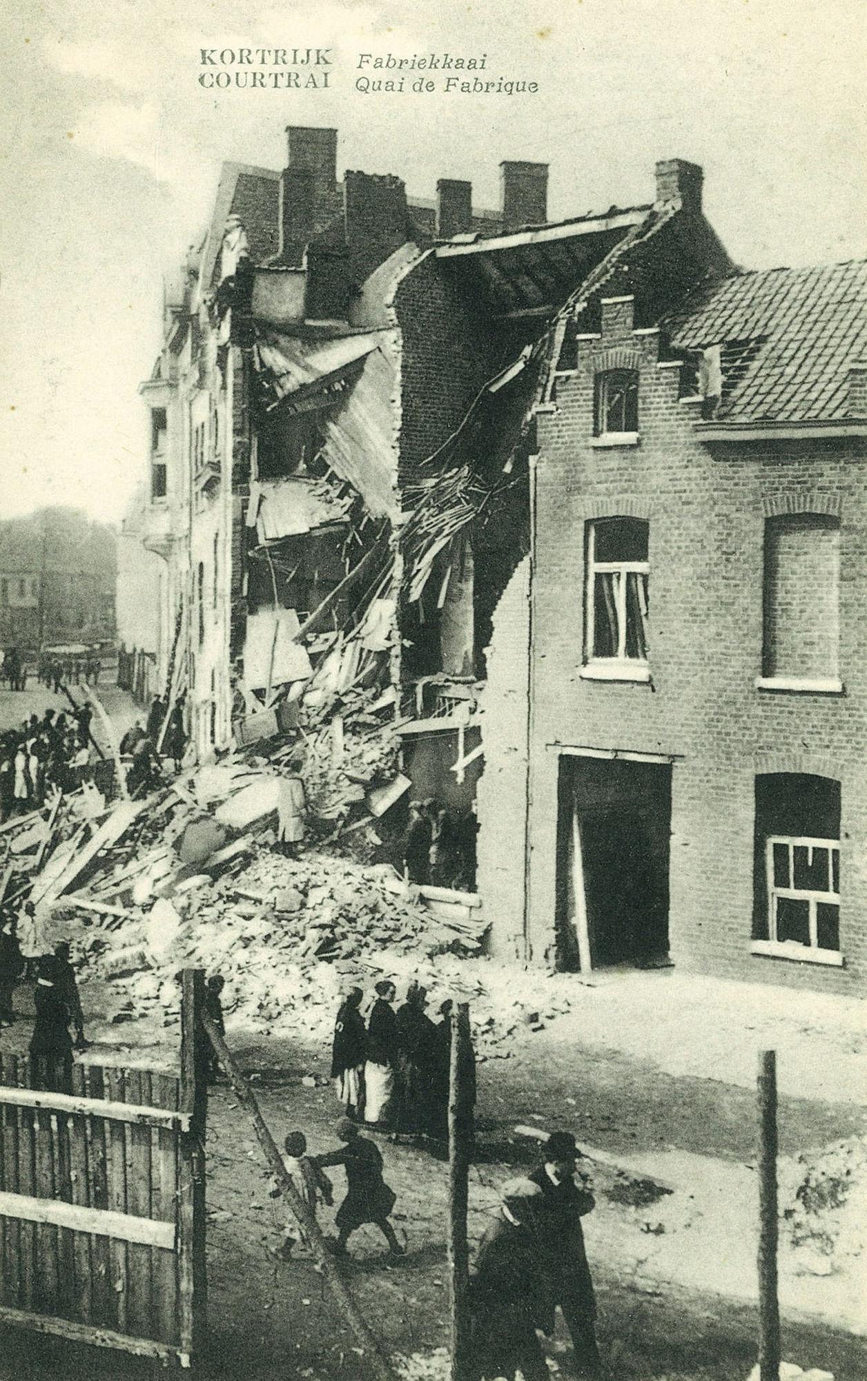 Fabriekskaai tijdens Wereldoorlog I
