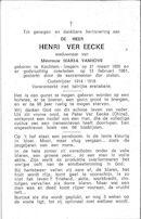 Henri Ver Eecke