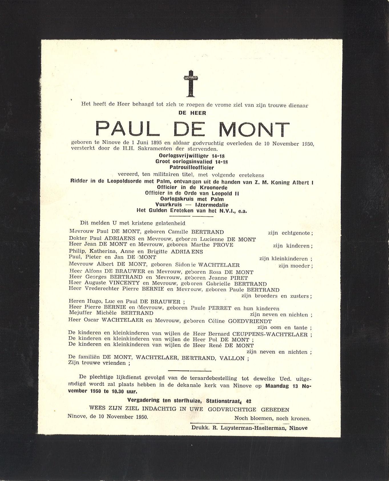 Paul De Mont