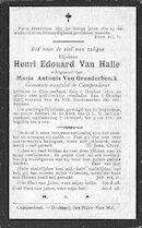 Van Halle Henri-Edouard