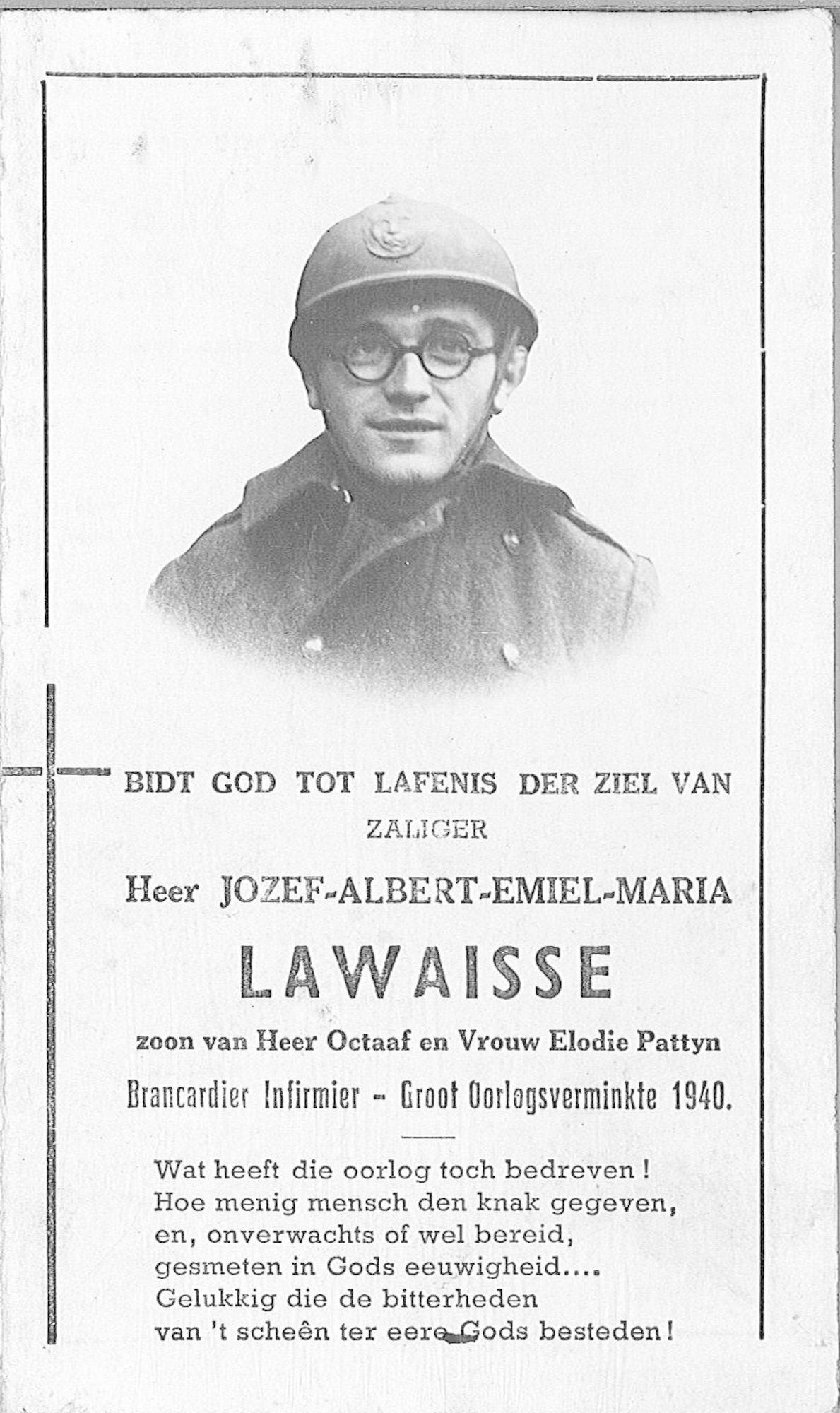 Jozef-Albert-Emiel-Maria Lawaisse