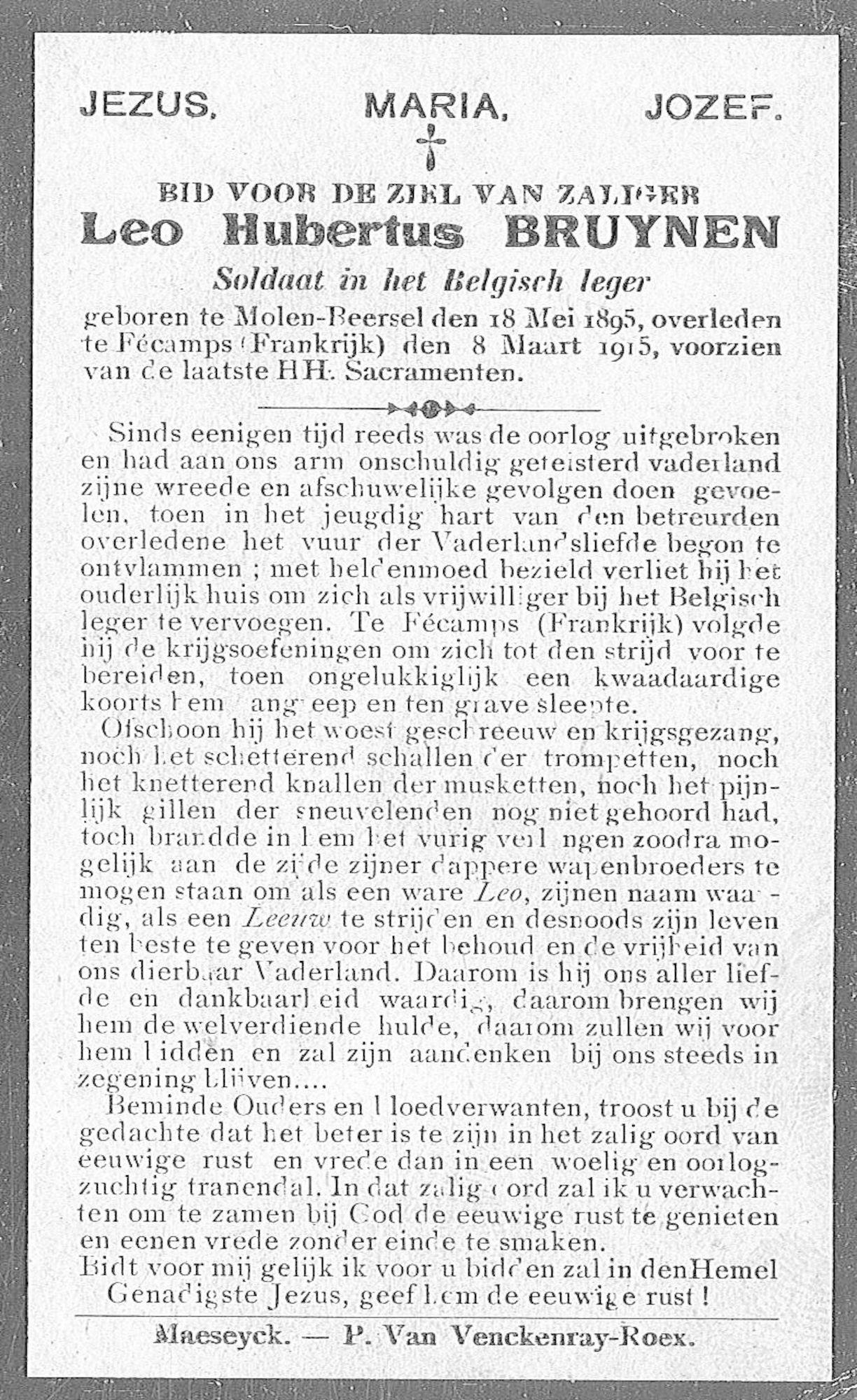 Bruynen Leo Hubertus