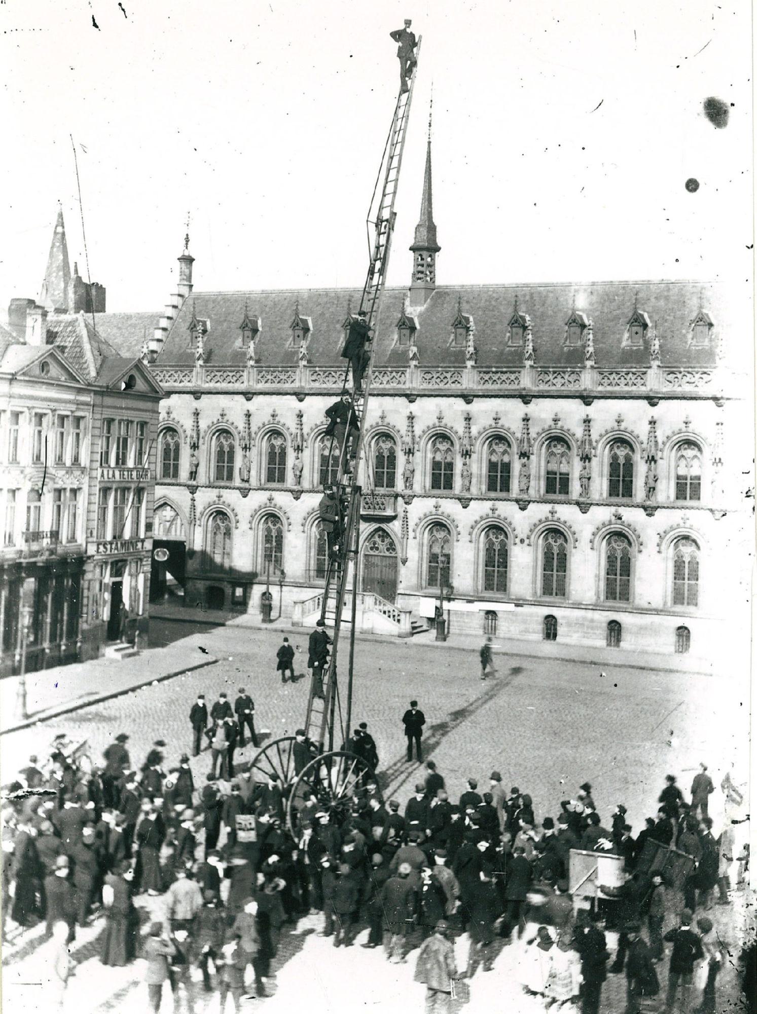 Brandweer eind 19de eeuw