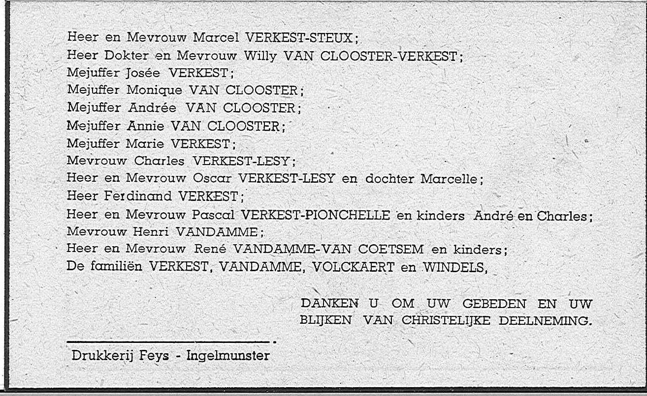 Alois-Felix-Jozef Verkest