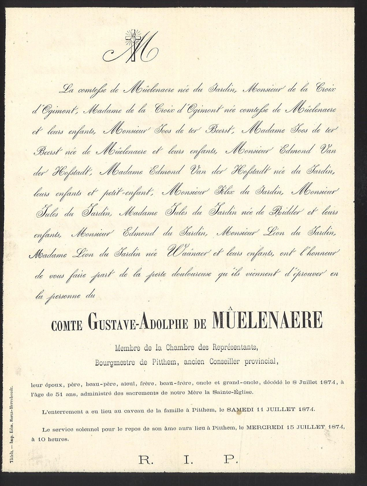 Gustave-Adolphe de Mûelenaere
