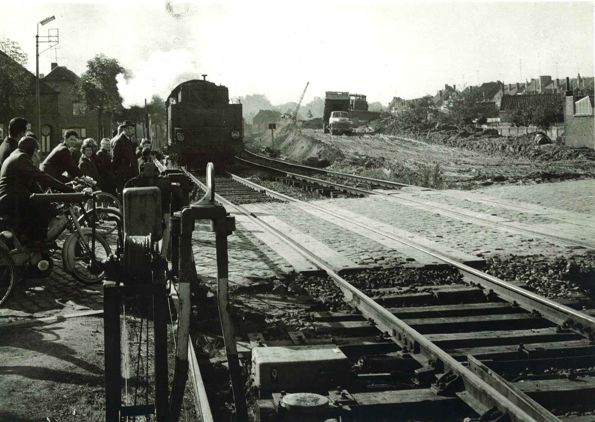 Spoorwegophoging