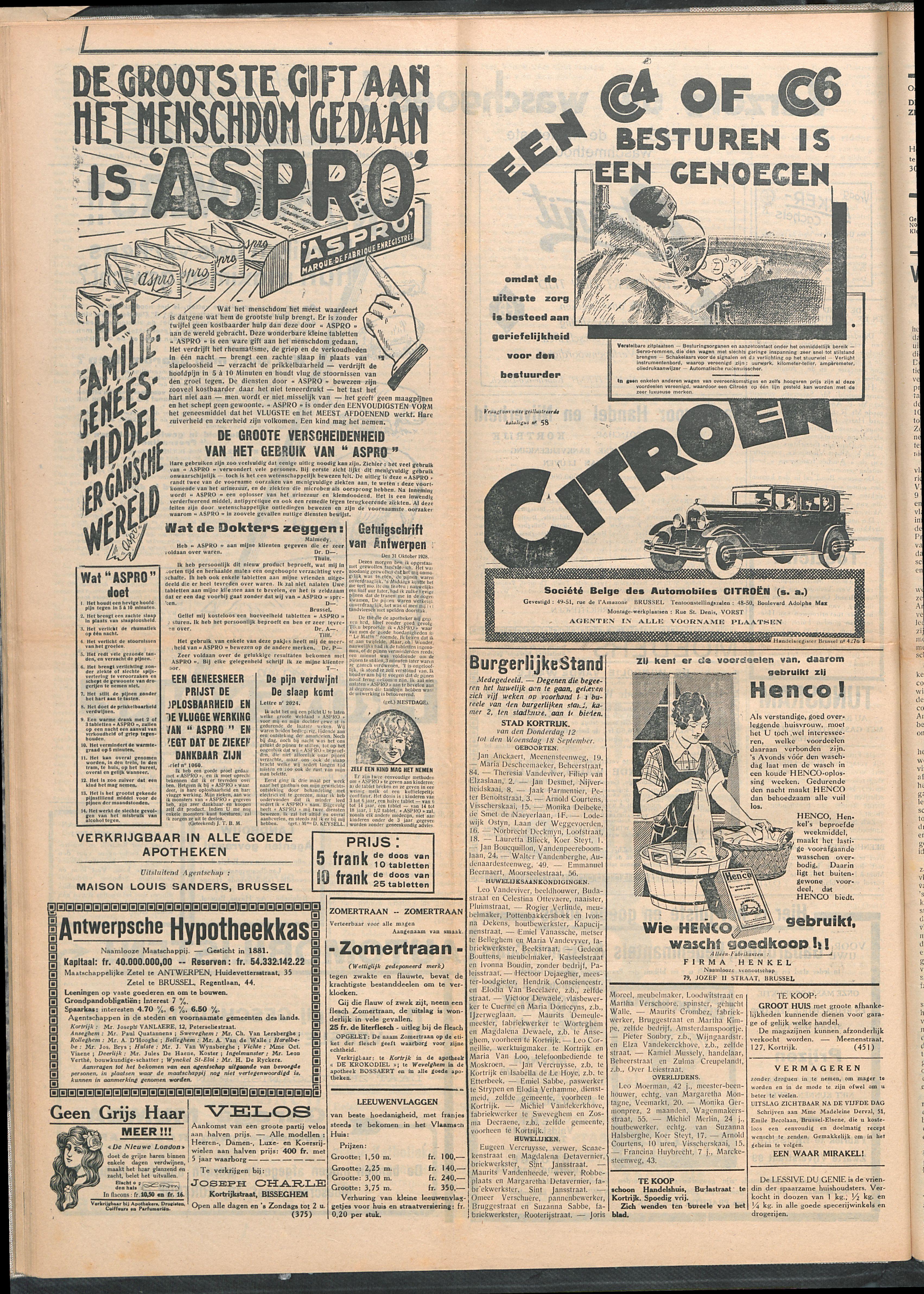 Het Kortrijksche Volk 1929-09-22 p4