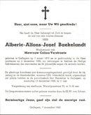 Alberic-Alfons-Jozef Baekelandt