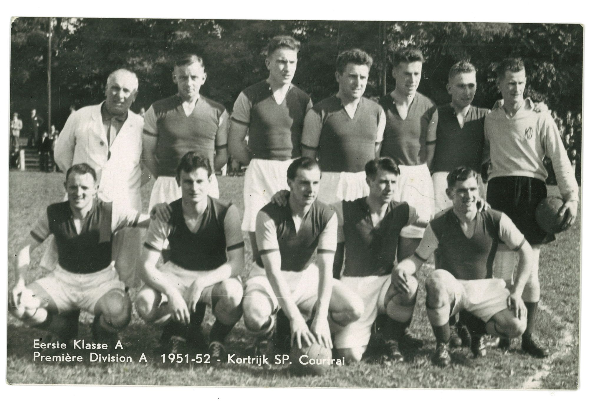 Kortrijk Sport in 1951-52