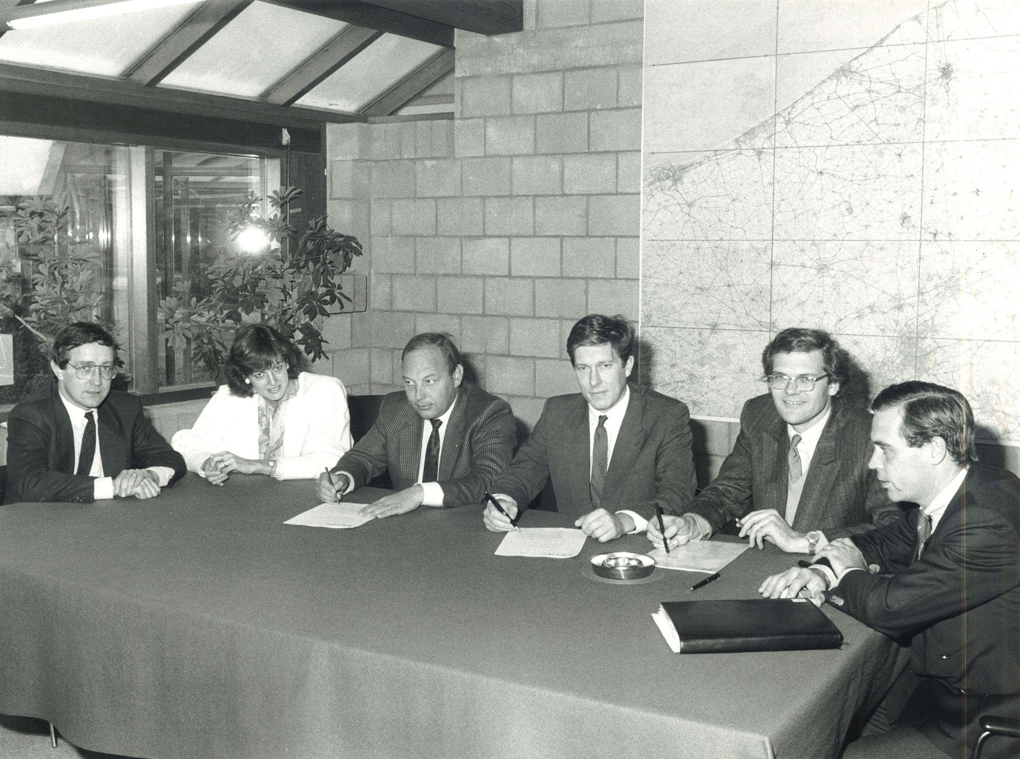 Gezamelijke dienstverlening van VERA en NCI 1986