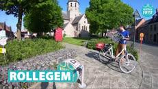 Fietsroute Kortrijk-Rollegem
