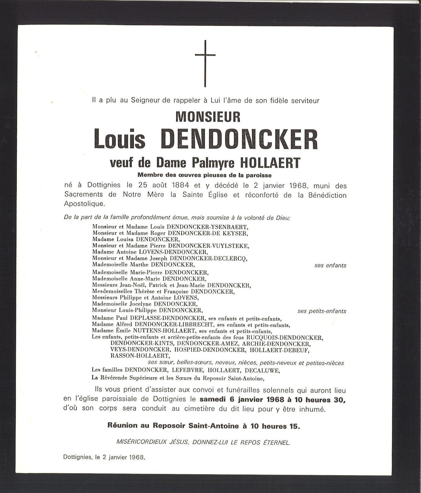 Dendoncker Louis