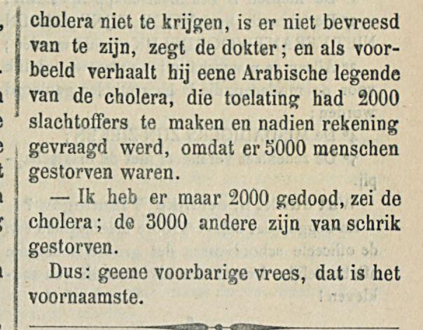 Middel tegen de cholera-1