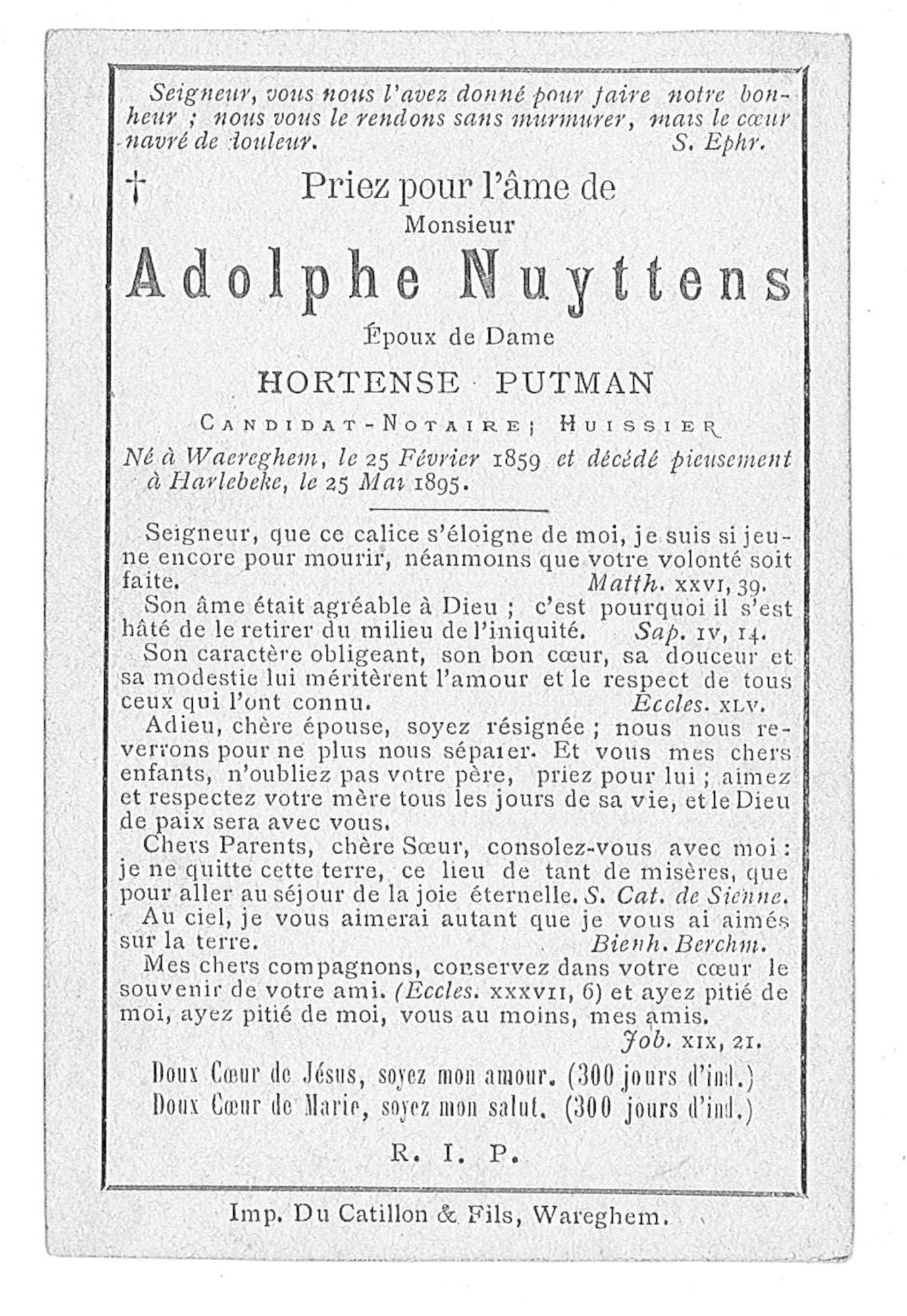 Adolphe Nuyttens