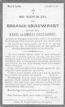 Rosalie Snauwaert